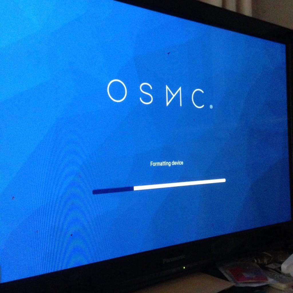 OSMC起動初期化