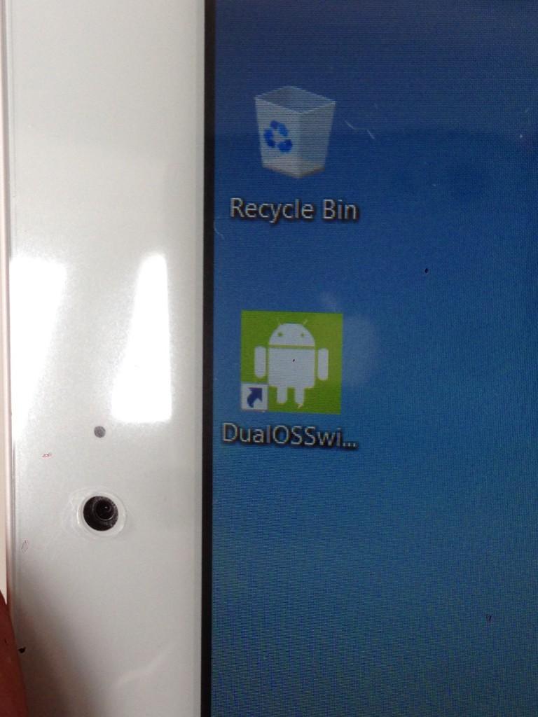 Androidへ切り替えアイコン
